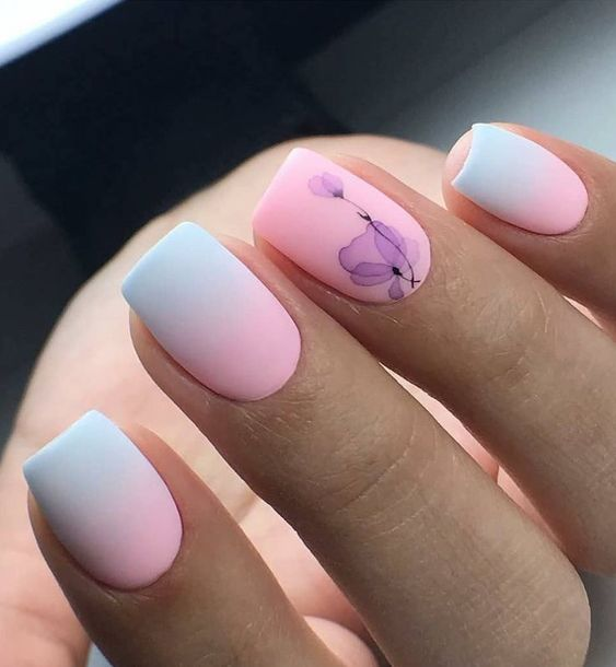 36 Trendy Ombre Nail Art Designs