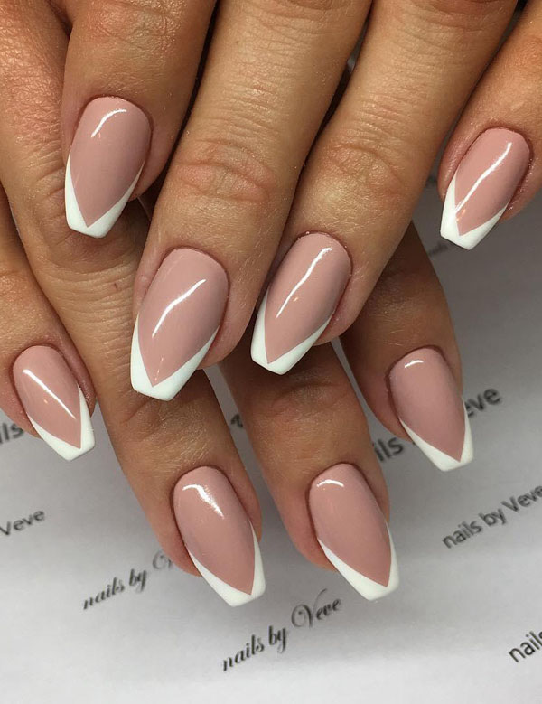 50 Gorgeous French Tip Nail Designs