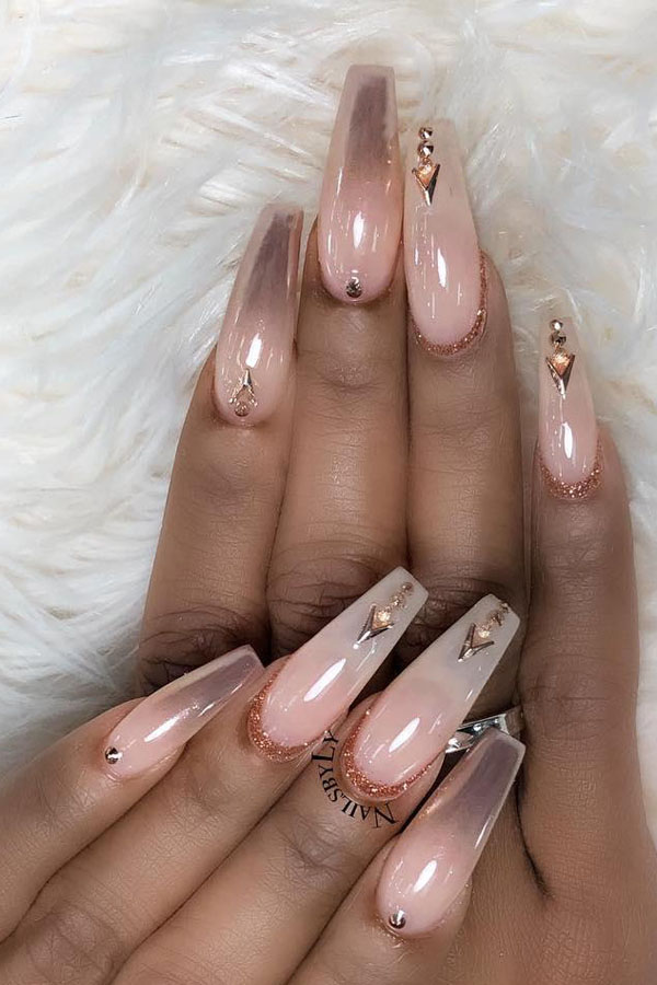 57 Pretty Coffin Nail Art Designs