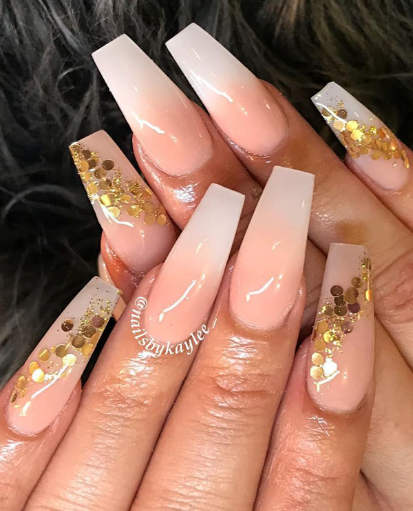 56 Trendy Ombre Nail Art Designs