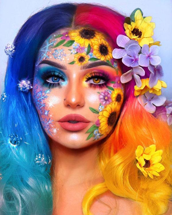 42 Halloween Makeup Ideas For Women
