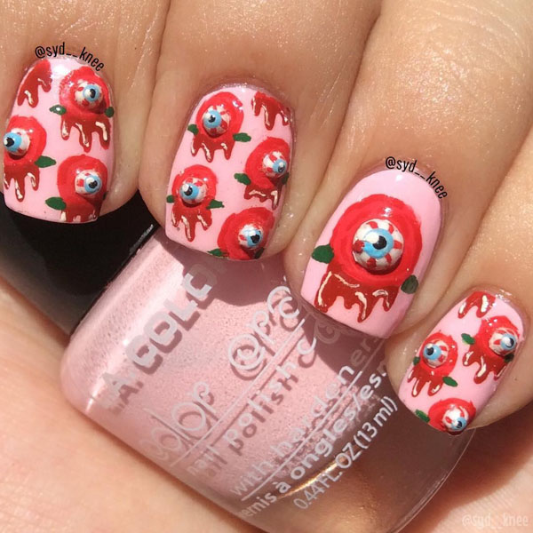 56 Easy Halloween Nail Art Designs 2019