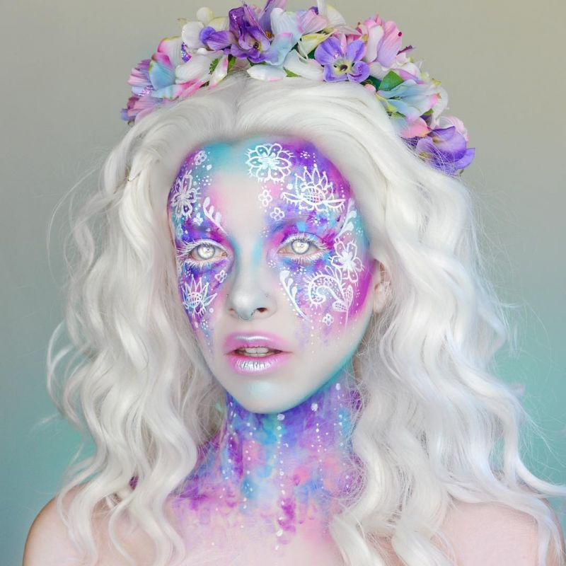 40 Attractive Fantasy Makeup Designs You Will Love