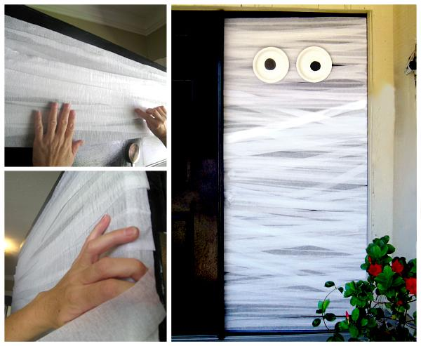 30 Awesome DIY Halloween Door Decorations To Get Inspired