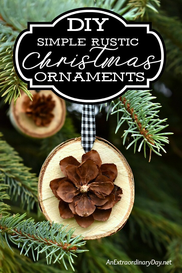 32 Creative DIY Natural Christmas Decorations
