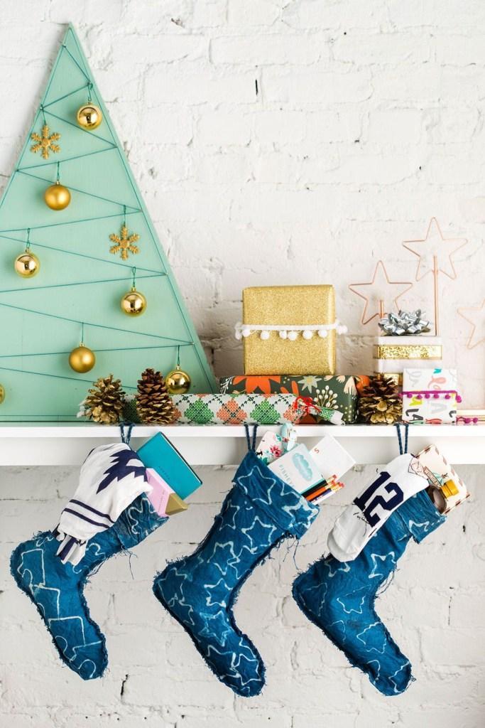 45 Creative and Unique DIY Christmas Stocking Ideas