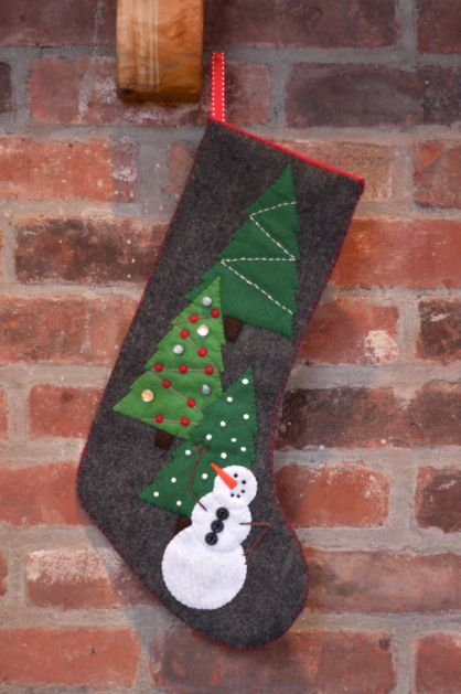 45 Creative and Unique DIY Christmas Stocking Ideas