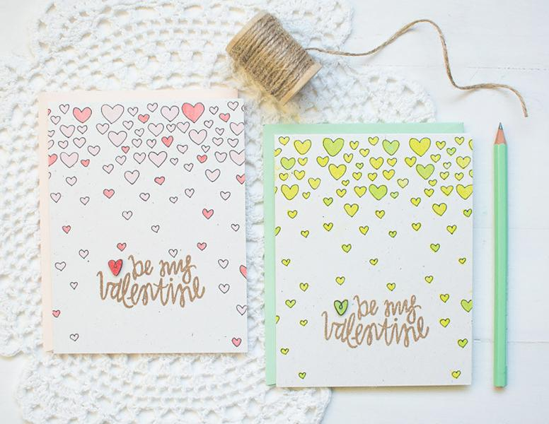 35 Cute and Easy DIY Valentine's Day Card Ideas