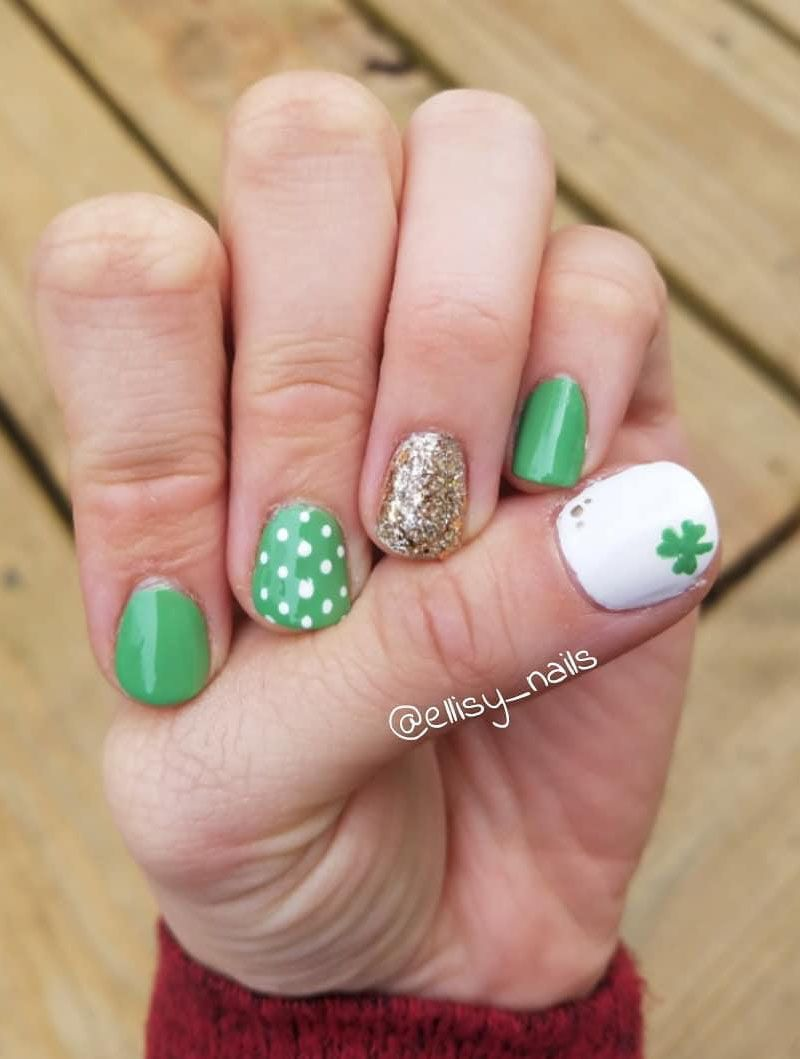 55 Gorgeous St. Patrick's Day Nails Just For You