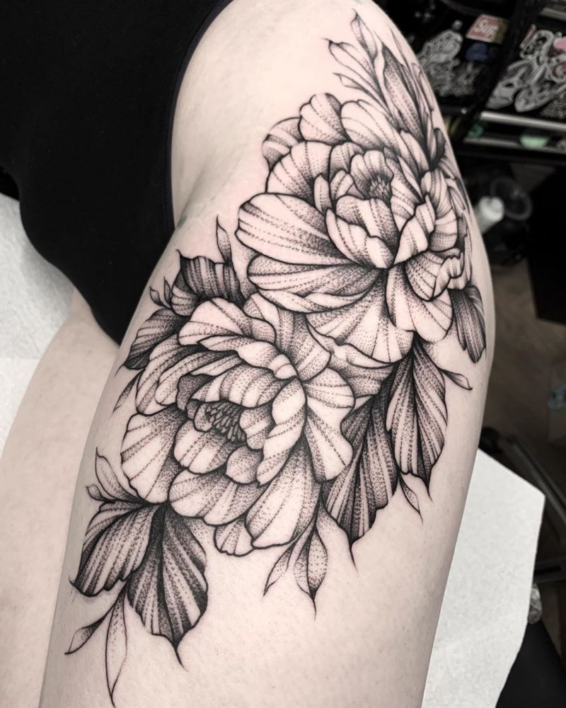 55 Most Beautiful Thigh Tattoos You Will Love