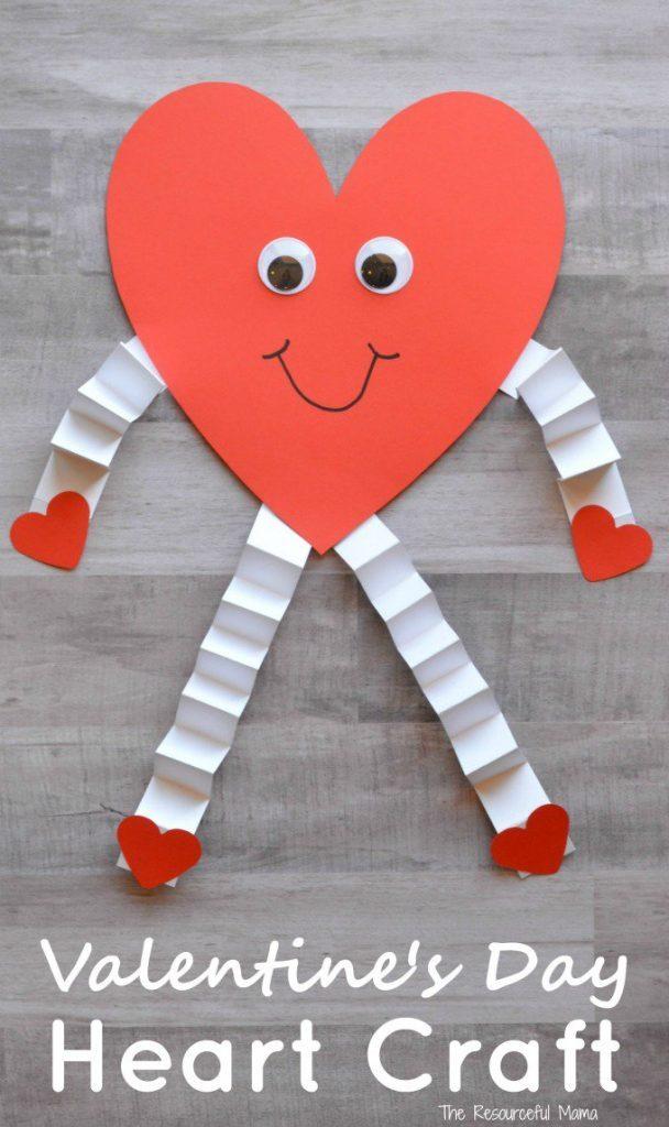 45 Cute DIY Valentine's Day Crafts For Kids