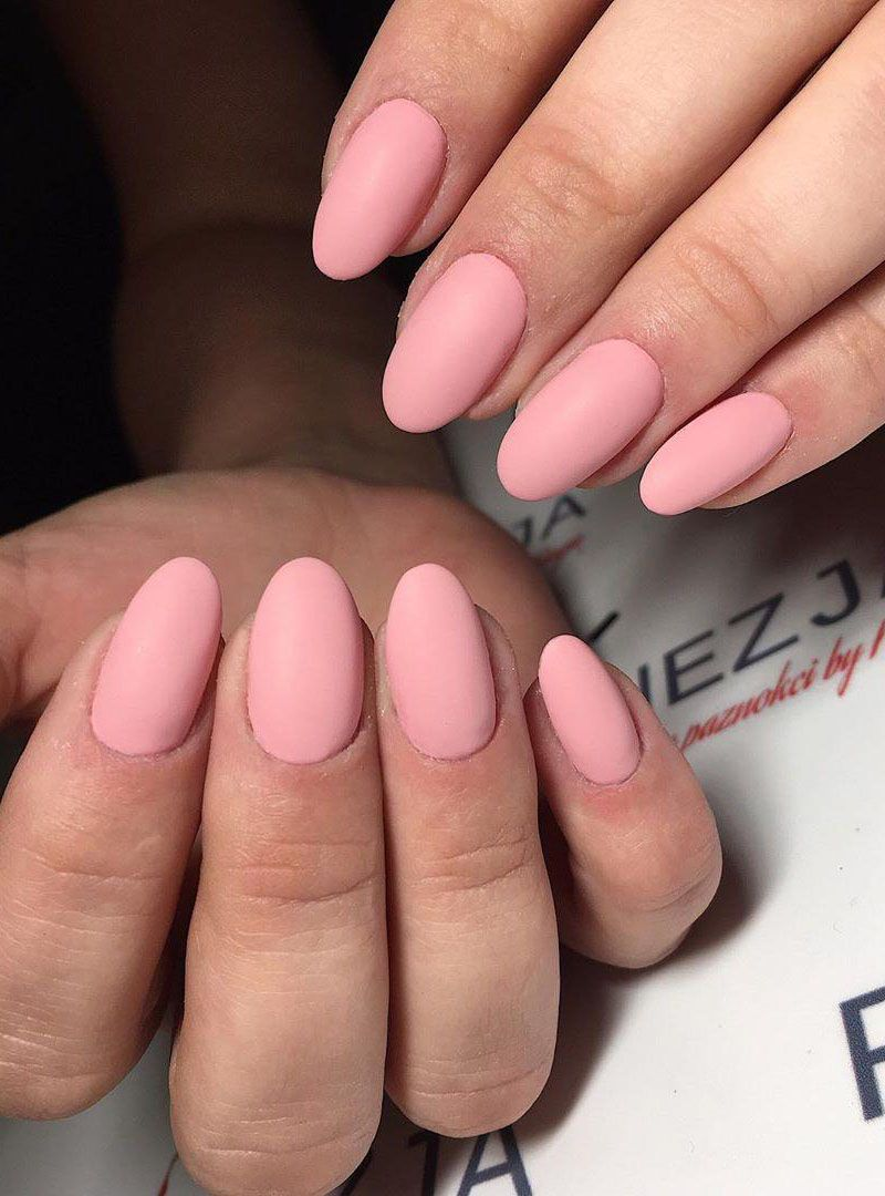 55 Pretty Matte Nails for Spring You Will Love