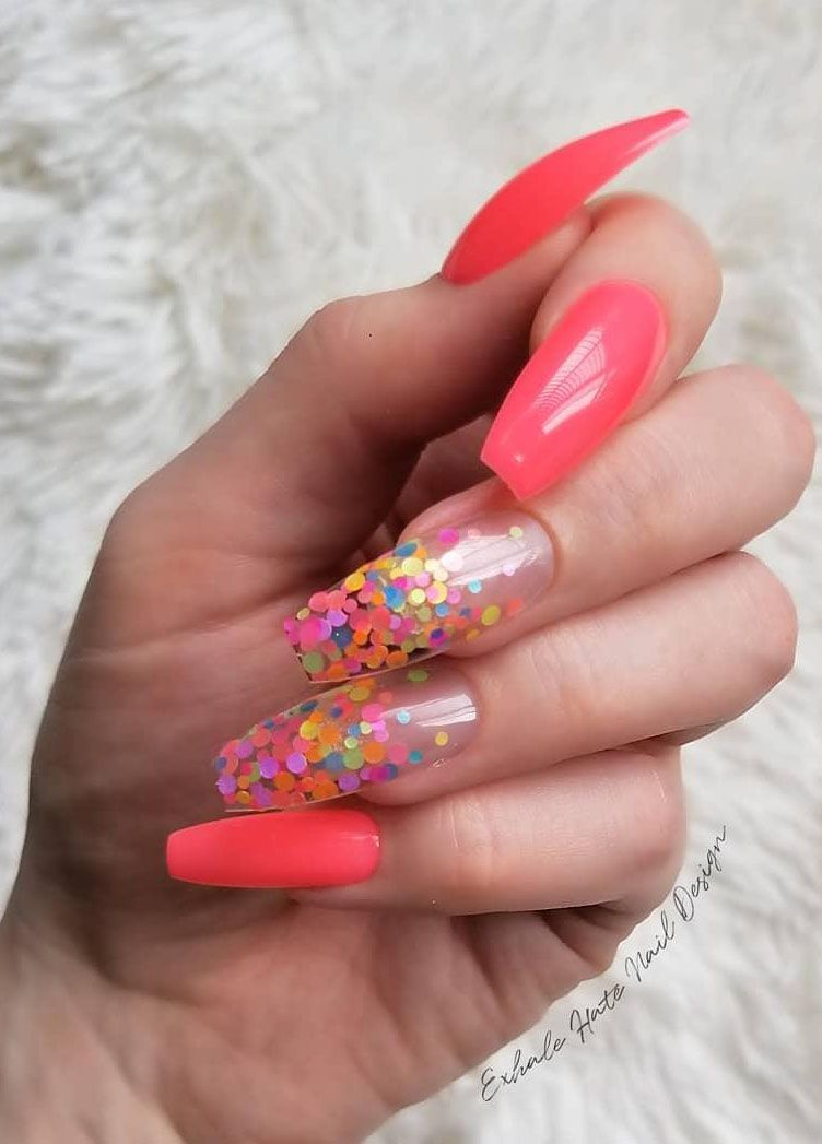 50 Pretty Neon Nails for Spring You Have to Try