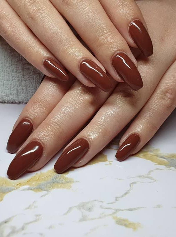 50 Pretty Brown Nails for Spring You Should Try