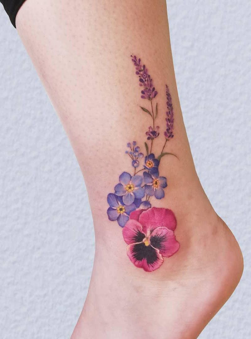 30 Pretty Lavender Tattoos You Must Try