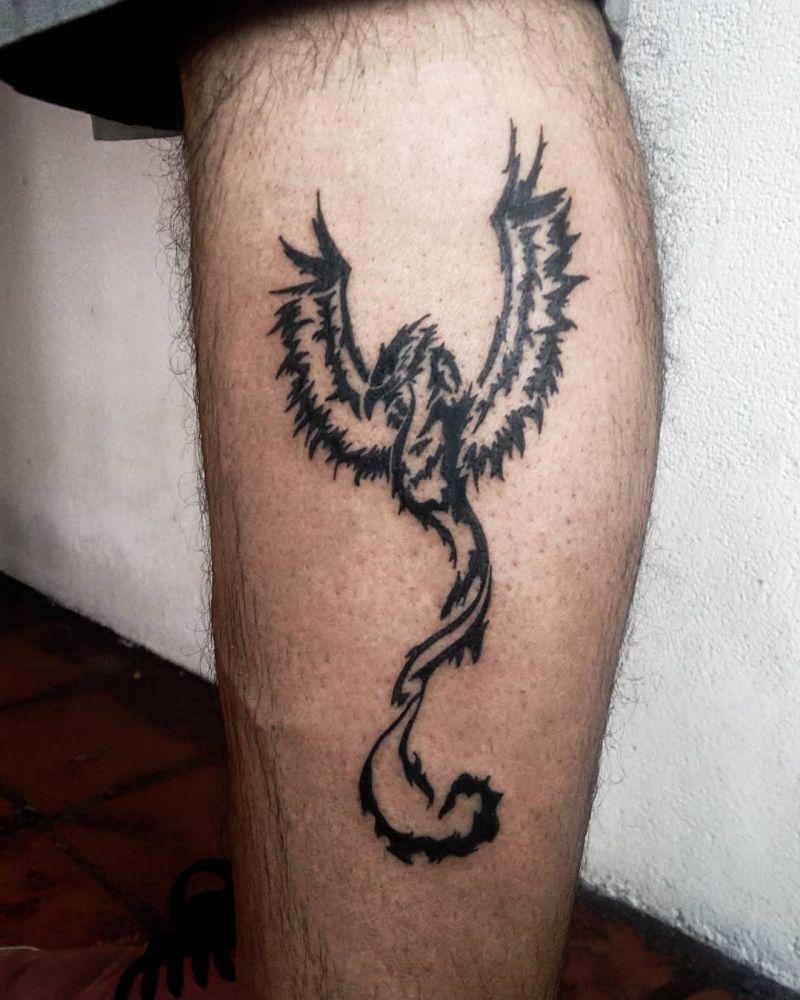 30 Pretty Phoenix Tattoos to Inspire You