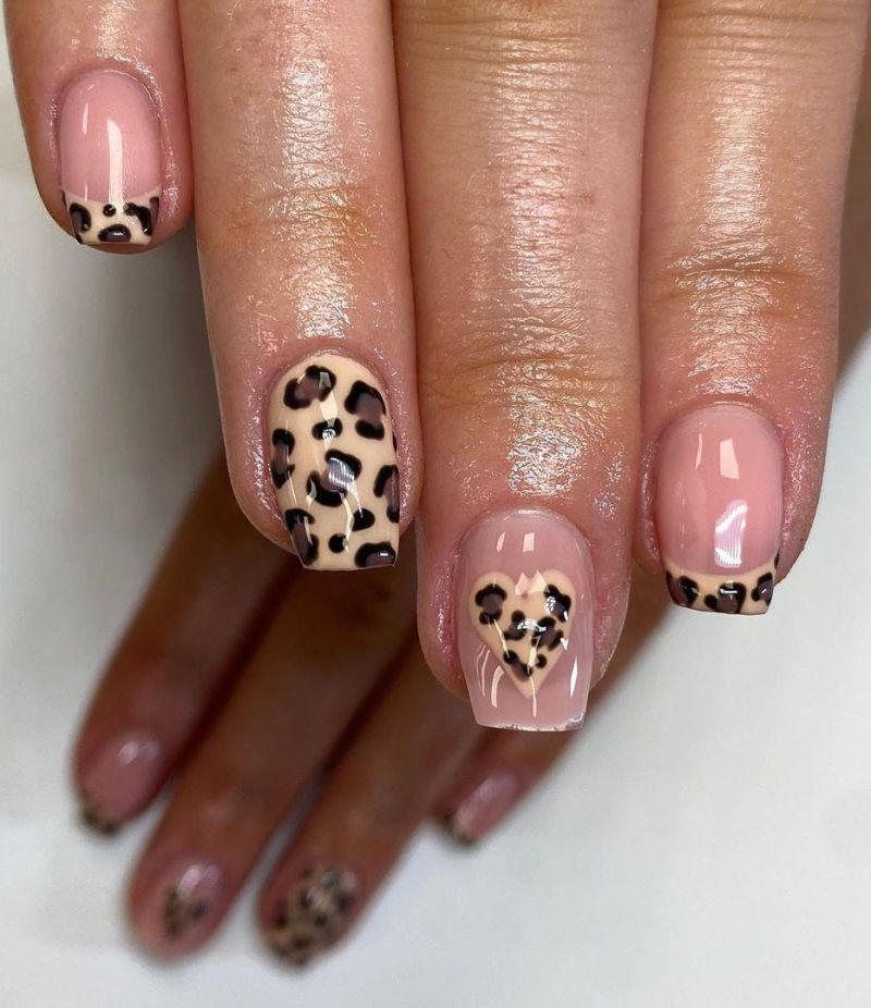 30 Trendy Leopard Print Nail Art Designs to Express Your Personality