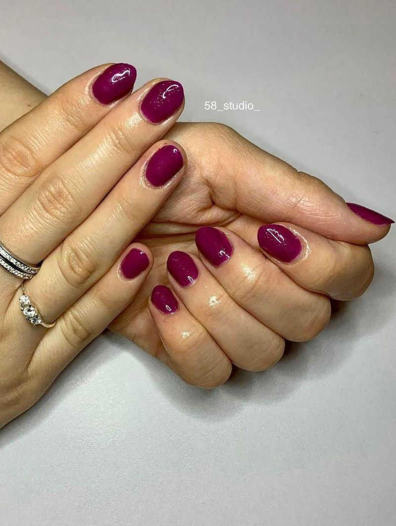 30 Trendy Magenta Nails You Must Try