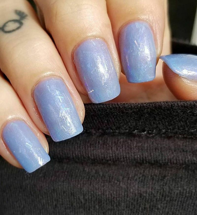 30 Trendy Periwinkle Nails You Will Love
