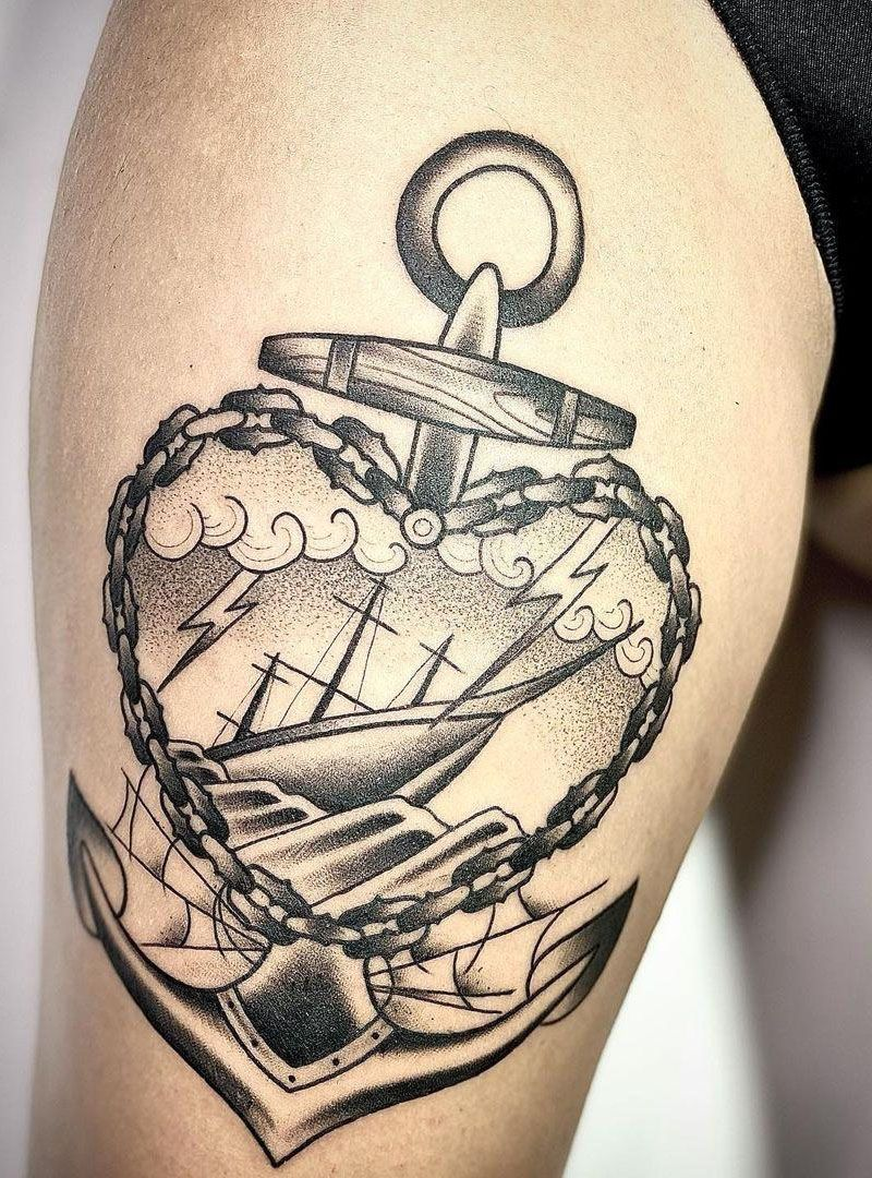 30 Pretty Anchor Tattoos You Will Love