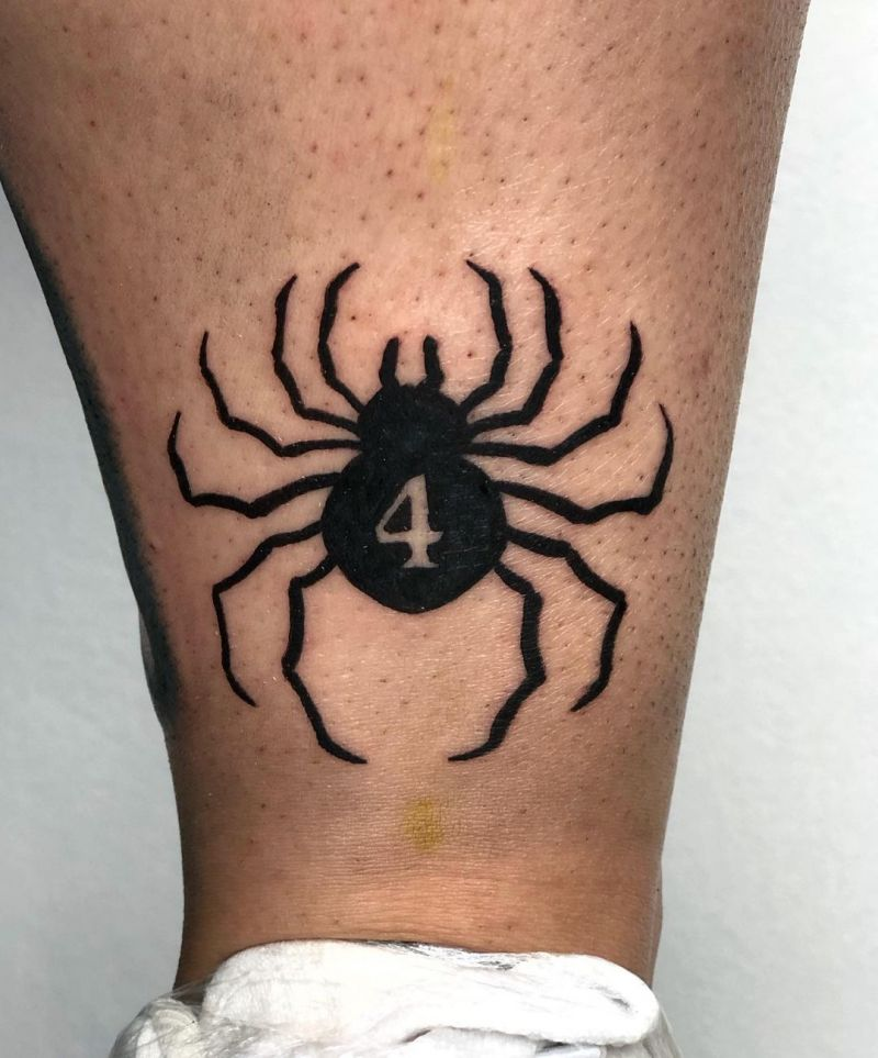 30 Great Spider Tattoos Bring You Good Luck