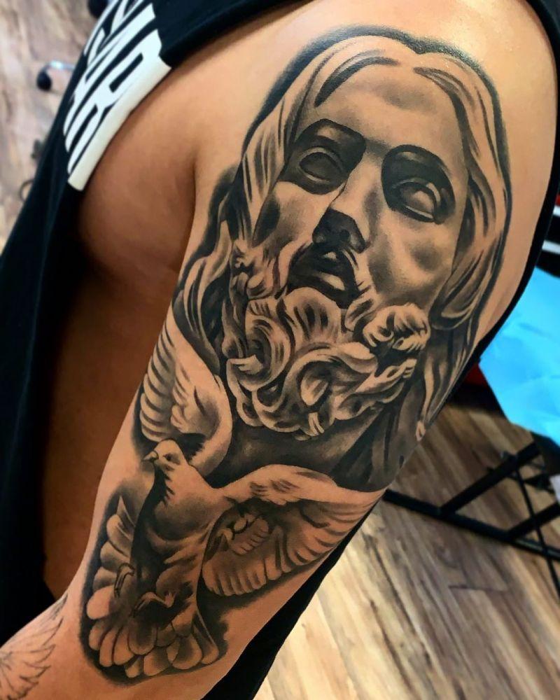 30 Pretty Dove Tattoos to Inspire You