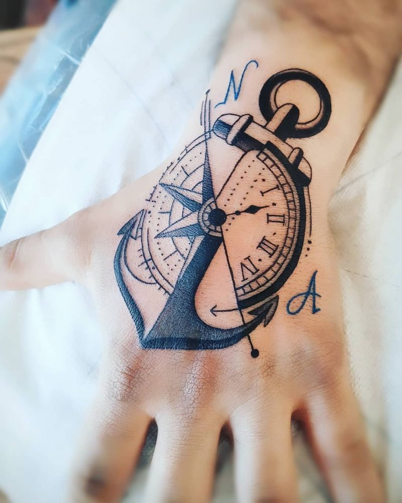 30 Pretty Anchor Tattoos You Will Love