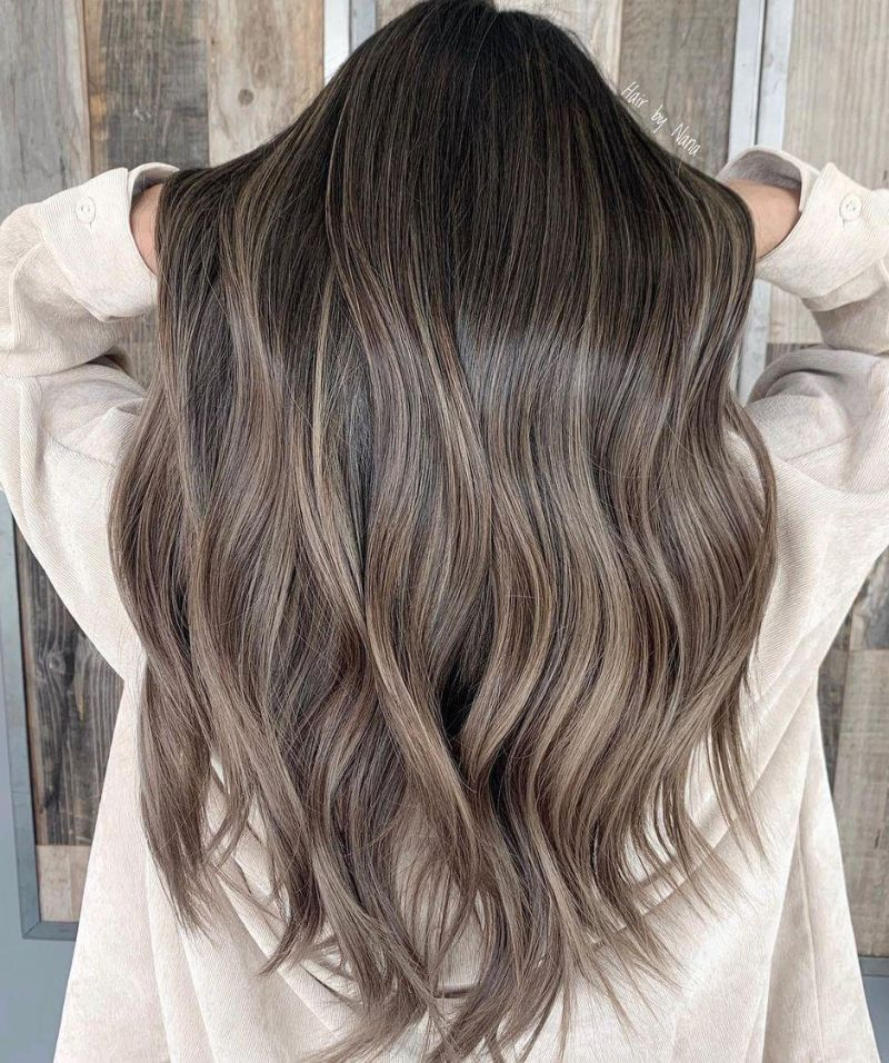 30 Pretty Mushroom Brown Hair Color Ideas and Looks