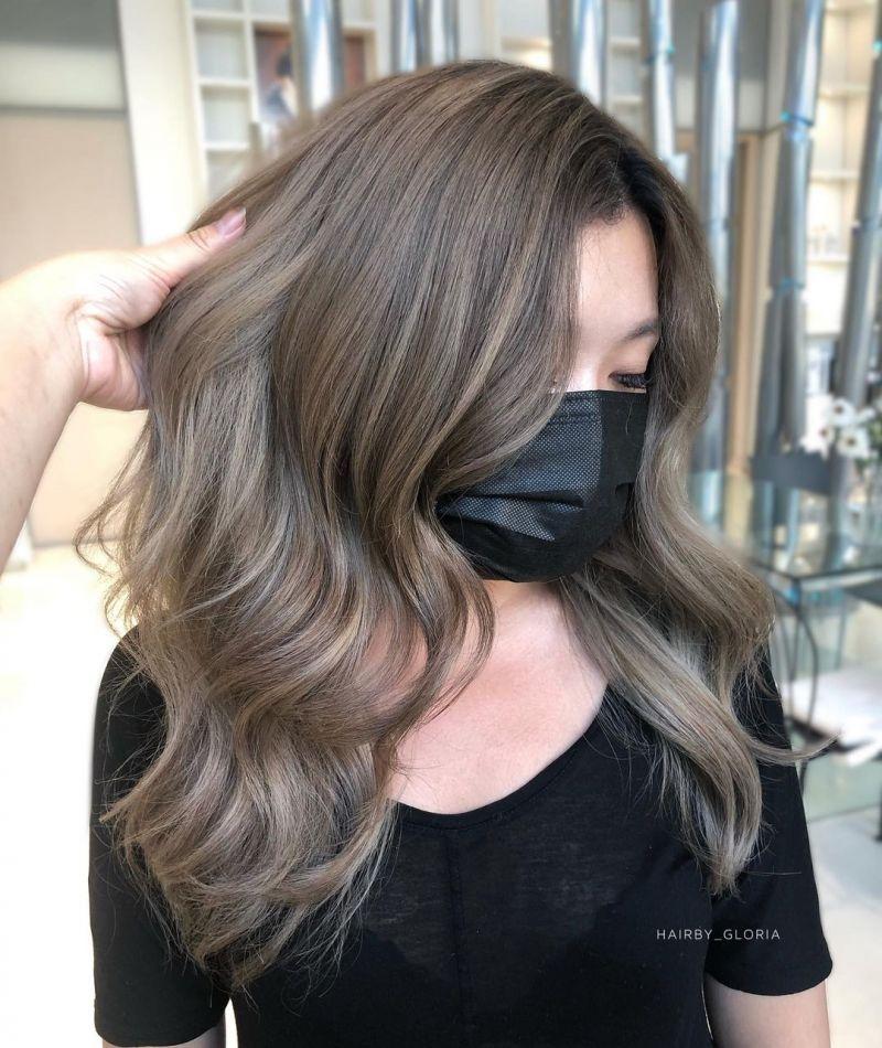 30 Pretty Mushroom Brown Hair Color Ideas and Looks