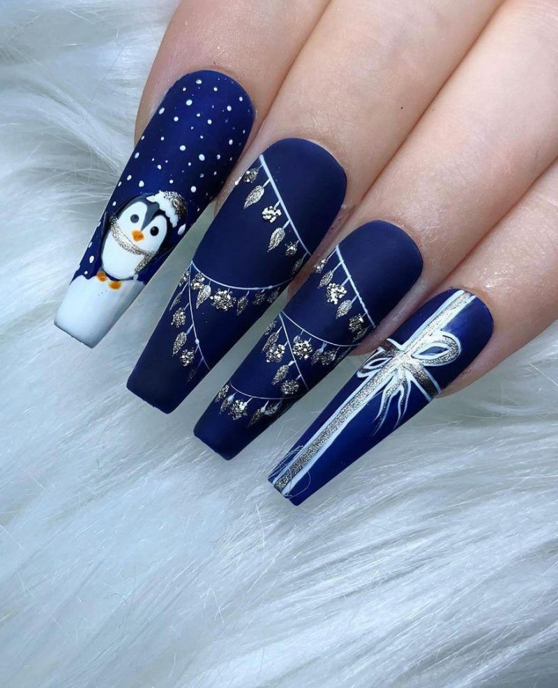 30 Cute Penguin Nail Art Designs You Can Copy