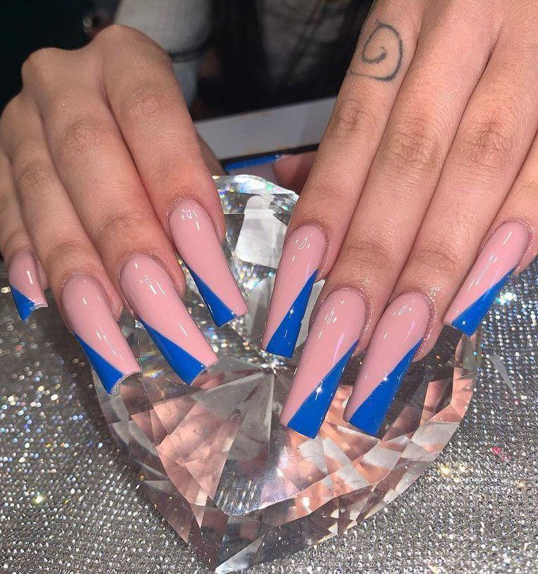 30 Pretty Side Tip Nails You Must Love
