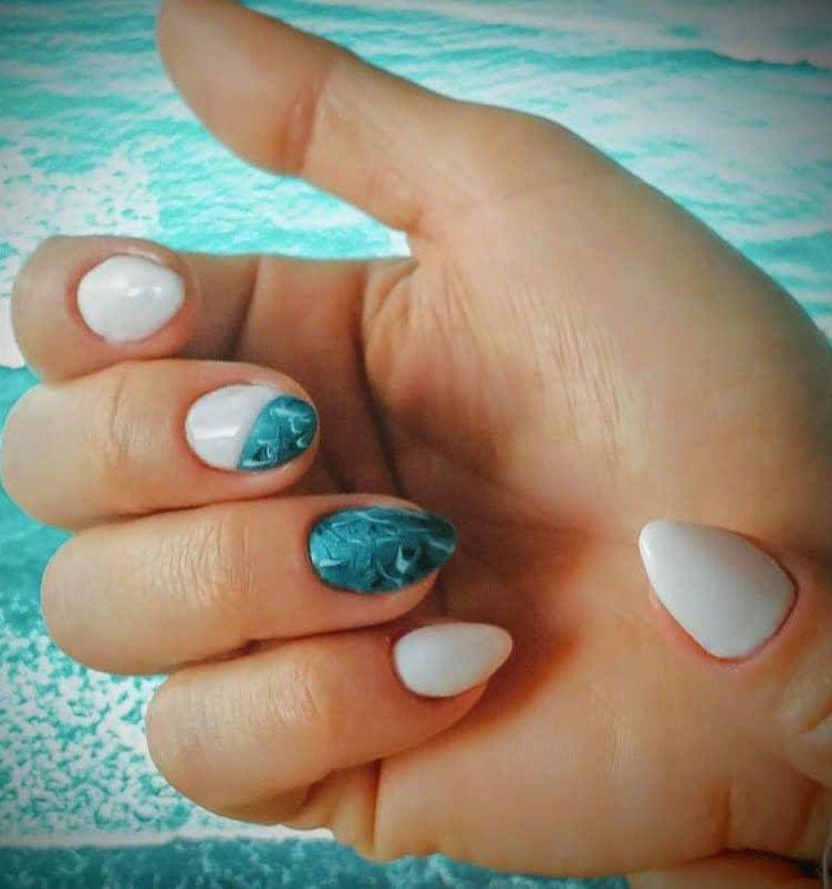 30 Elegant Sea Nail Art Designs You Will Love