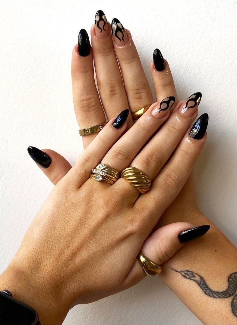 30 Pretty Fire Nail Art Designs You Must Try