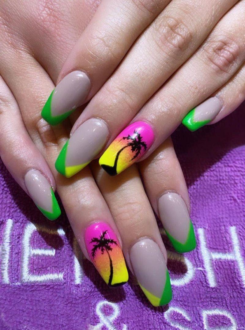 30 Stylish Beach Nail Art Designs You Will Love