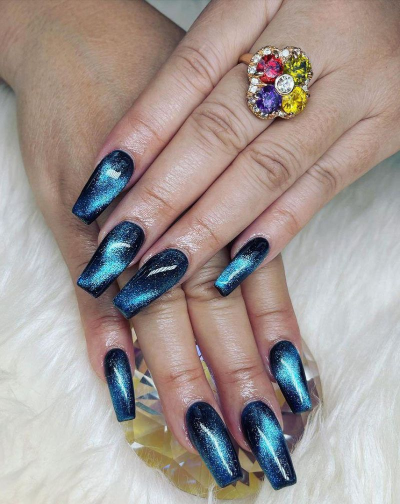 30 Gorgeous Galaxy Nail Art Designs You Must Love