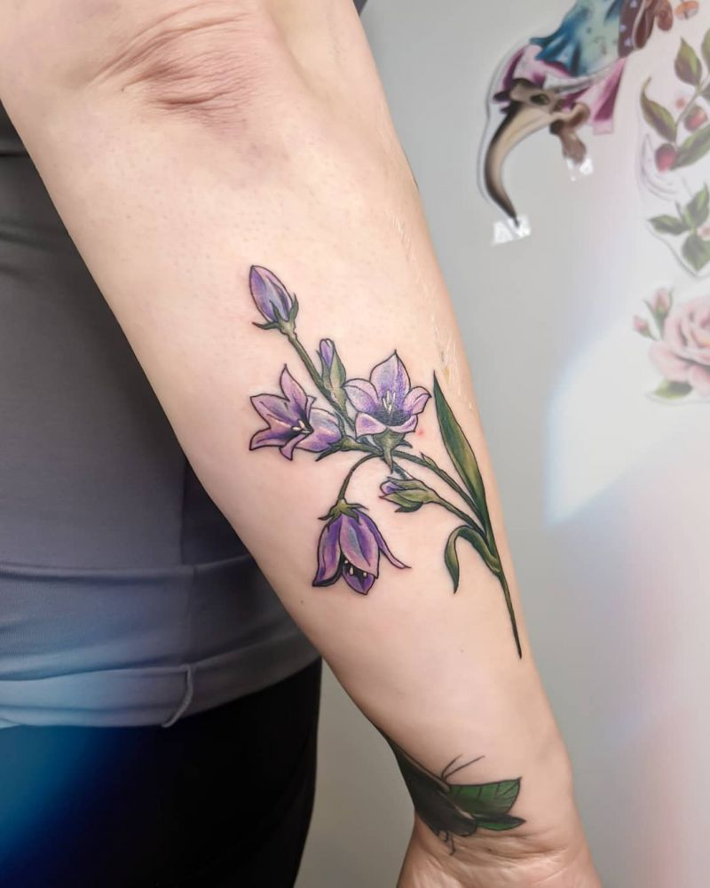 30 Gorgeous Bluebell Tattoos You Must Love