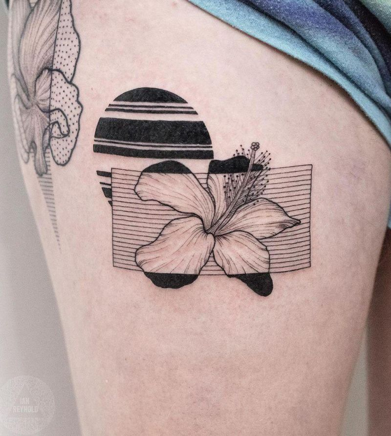 30 Pretty Hibiscus Tattoos You Should Try