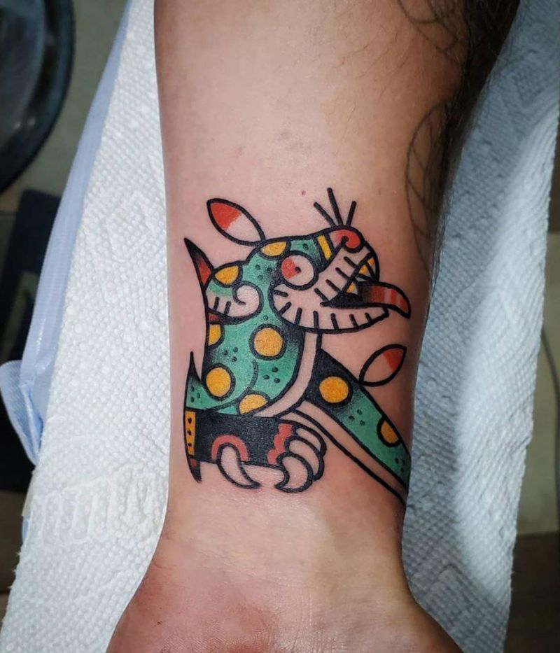 30 Unique Aztec Tattoos You Must Love