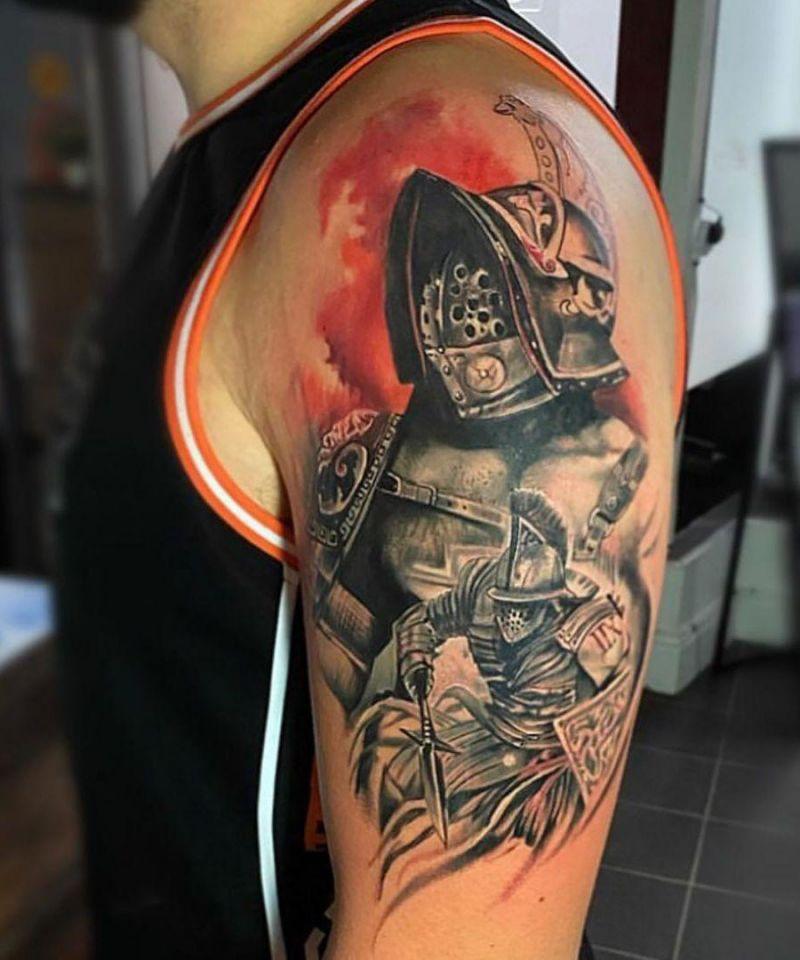 30 Unique Gladiator Tattoos You Can Copy