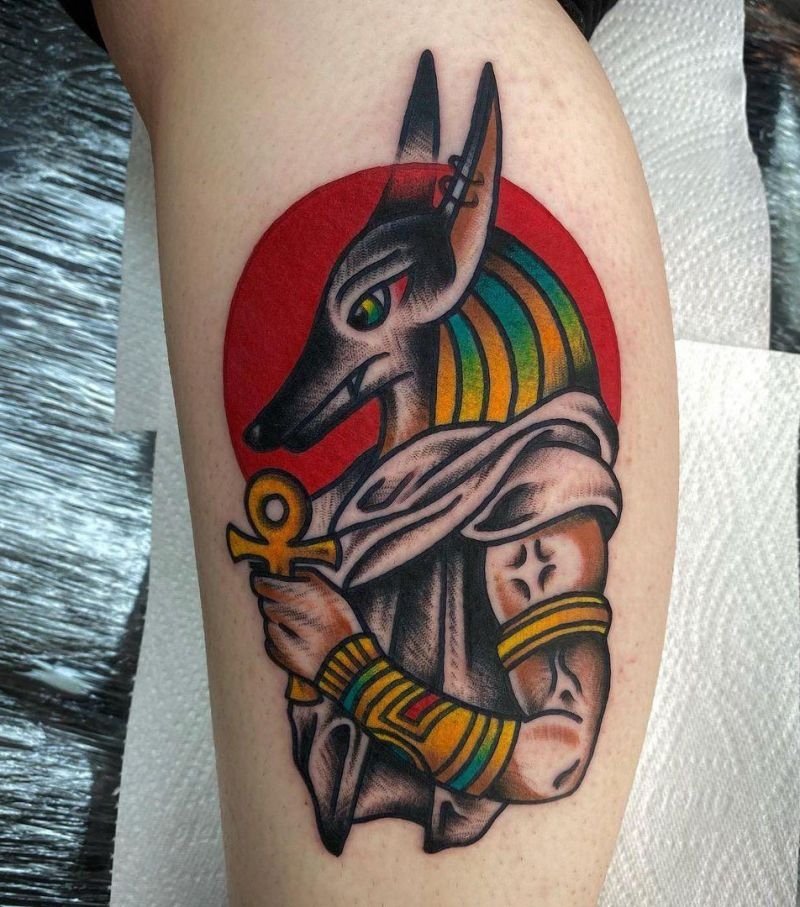 30 Unique Anubis Tattoos You Must See
