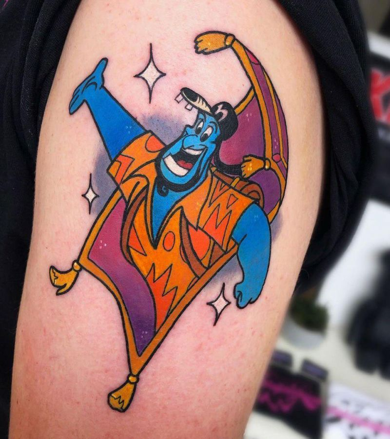 30 Unique Genie Tattoos for Your Inspiration