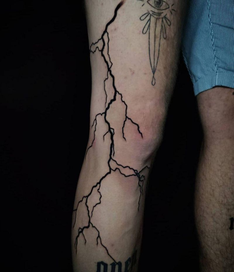 30 Unique Lightning Tattoos You Will Love