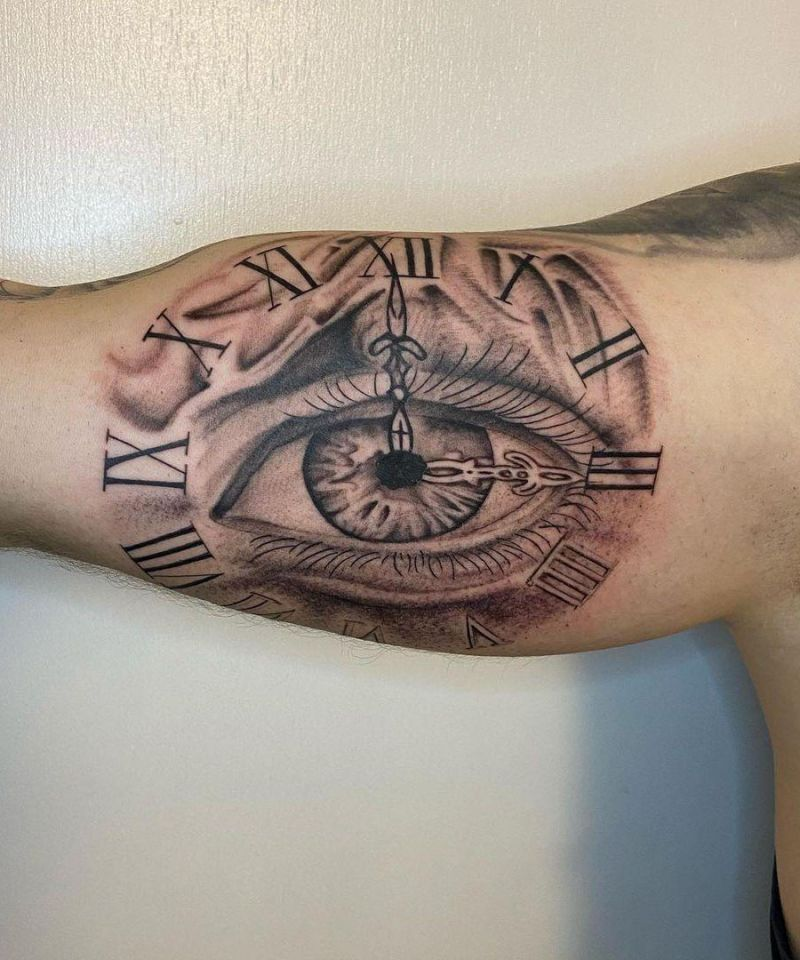 30 Unique Watch Tattoos You Must Try
