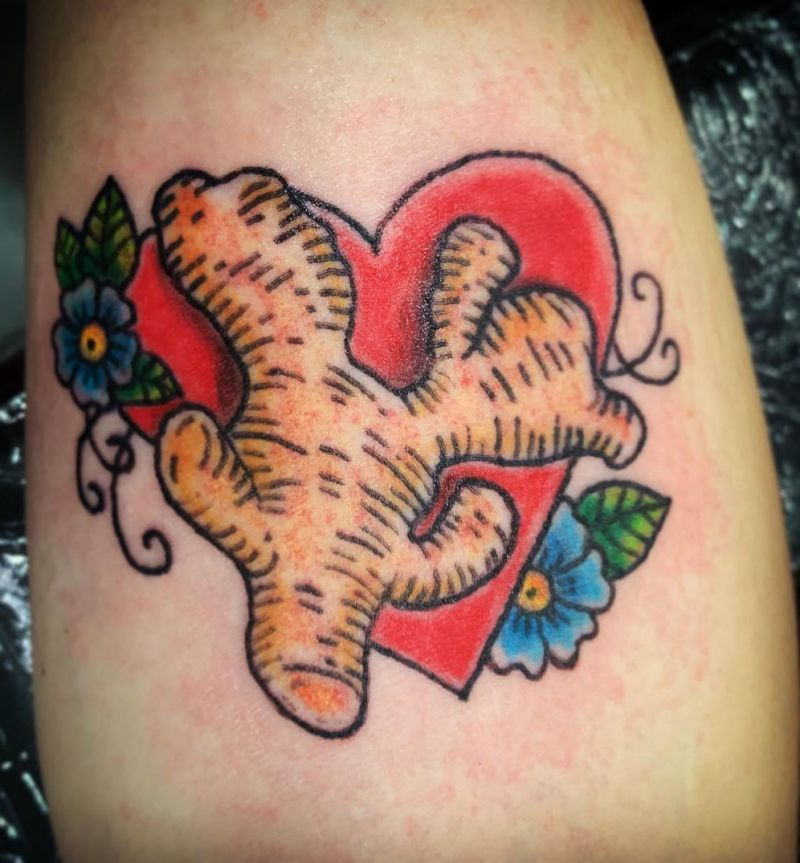 30 Unique Ginger Tattoos for Your Inspiration