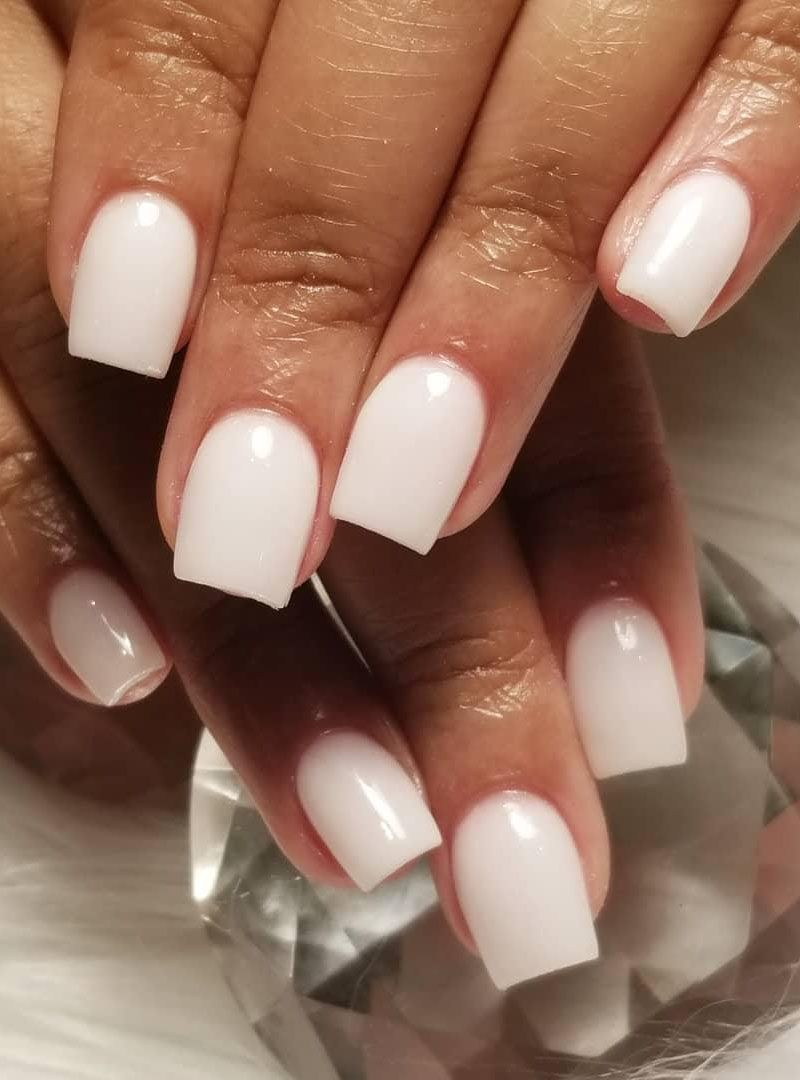 30 Pretty Short Acrylic Nails for Spring