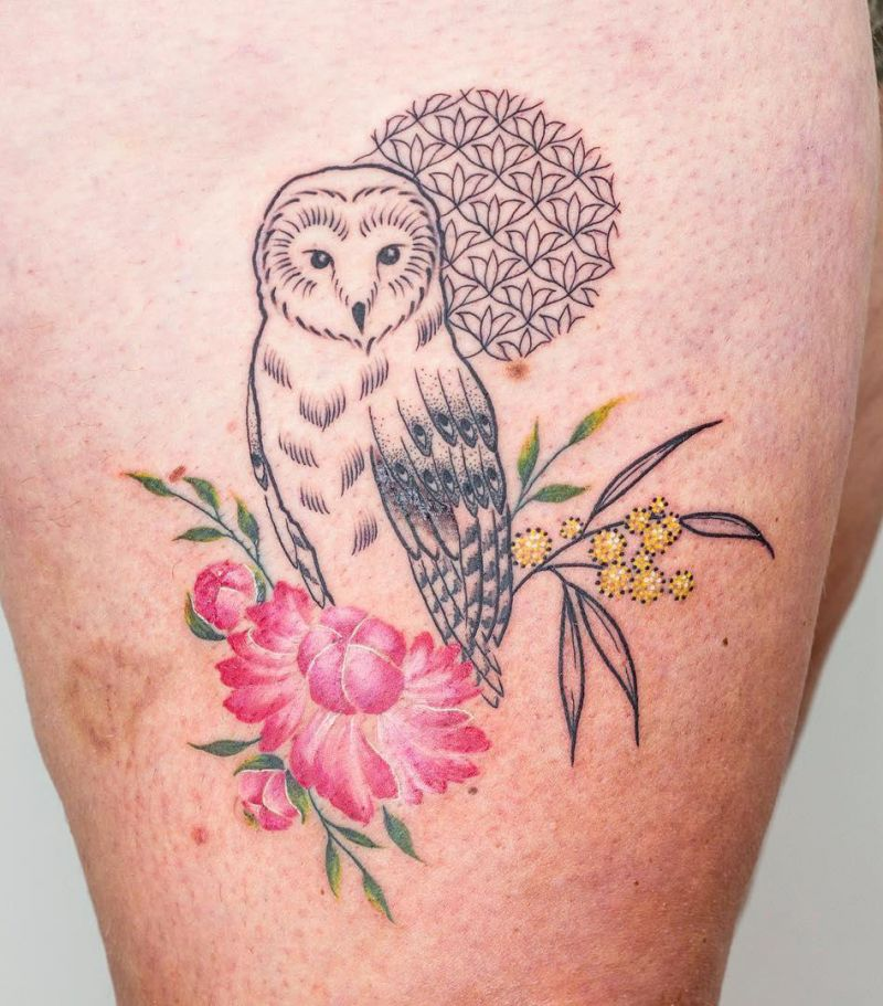 30 Distinctive Owl Tattoos You Must Try